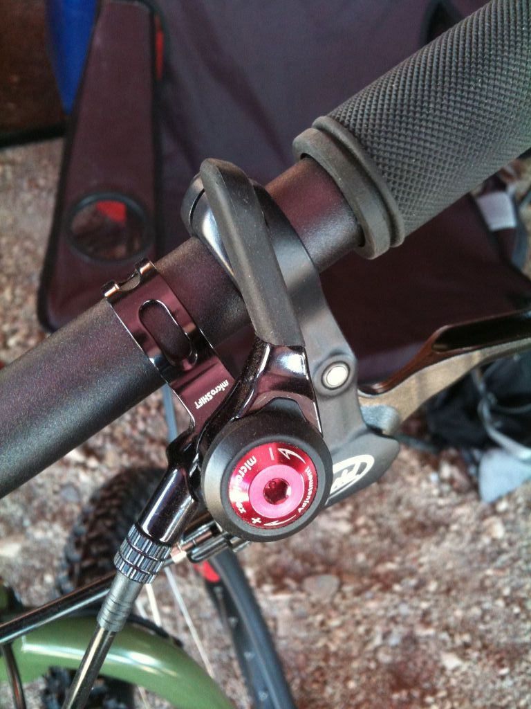 Microshift Thumbshifter Sideways Cycles