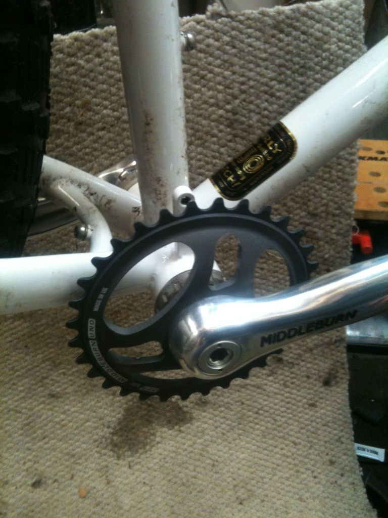 Middleburn Puglsey crank at Sideways Cycles