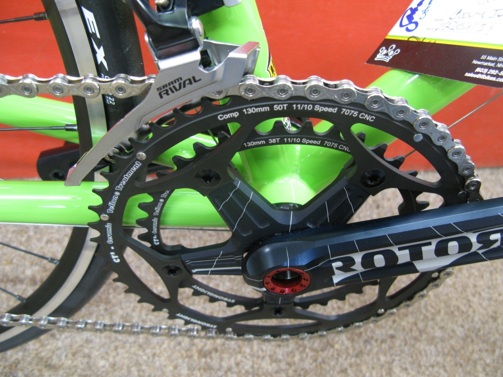 Sprout Green Rotor Cranks
